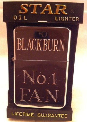 Blackburn Gegraveerd Gepolijst Chroom Aansteker nr. 101 kan gratis worden gegraveerd