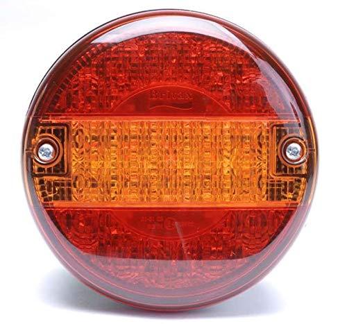 Britax Runde LED 140 mm Hamburger-Lampe STI LKW Anhänger L14.10.L24V