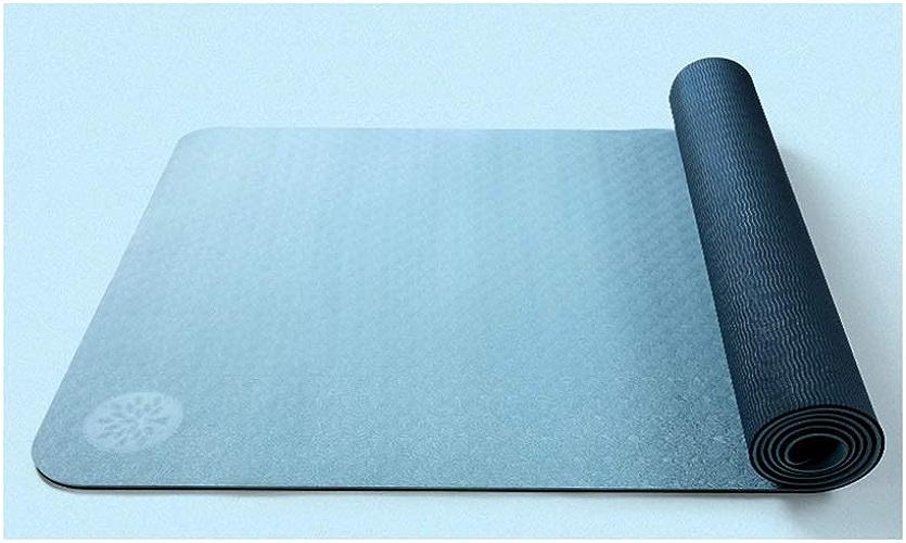 IUYWL TPE élargi épaississement Tapis de Yoga débutant Sport Tapis de Yoga Tapis antidérapant 183cmx66cm Tapis de Yoga (Couleur   C)