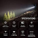 Olight S1R Baton II LED Flashlight Max 1000lm Compact Rechargeable EDC Torch Light Single IMR16340 Powered Torch for… 4