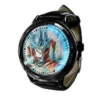 Dragon Ball Goku ドラゴンボール悟空 LED ウォッチコスプレアニメファッションカジュアルレザーウォッチ人気のベルト耐久性ウォッチウ 3D 防水ユニセックスギフトウォッチ