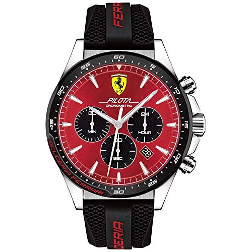 Scuderia Ferrari Analog Red Dial Men's Watch-0830595