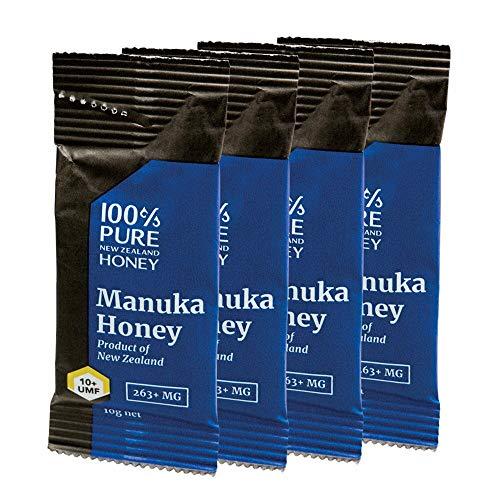 マヌカハニー UMF10 小分けタイプ(10g)4袋入り【ニュージランド おみやげ(お土産) 輸入食品 】「蜂蜜」