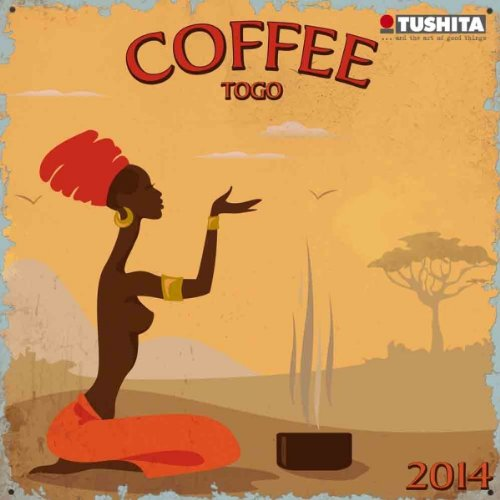 Coffee ToGo 2014 Slimline Calendar (Mini Calendars)