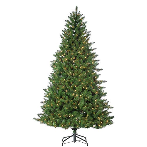 Sterling 7.5' Stone Pine Home Decor, 46InL x 15InW x 17.5InH, Green
