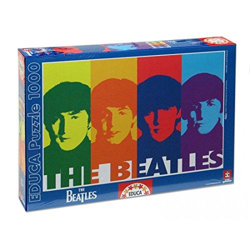 Educa Borrás The Beatles - Juego 1000 The Beatles Pop Art 14471