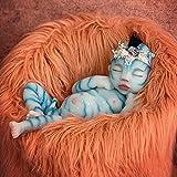 BKONF Muñecas Reborn 55 cm Reborn Baby Muñecos Reborn de Silicona Hecho a Mano Baby Reborn Bebe Las Extremidades Pueden Moverse con Flexibilidad Adecuado para Regalos de Niños y Niñas