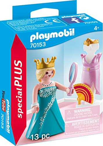 PLAYMOBIL 70153 Special Plus Prinzessin mit Kleiderpuppe, bunt