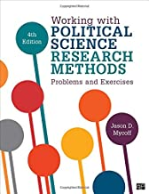 working with political science research methods problems and exercises