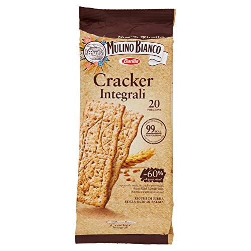 Mulino Bianco Cracker Integali, 500g