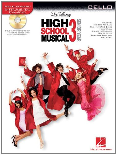 High School Musical 3 - Senior Year Violoncelle +CD