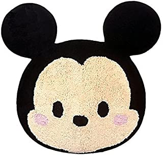 Jay Franco and Sons Skid-resistant Backing,100 Percent Cotton, Machine Wash, Imported Disney Tsum Tsum Stacks Tufted Rug