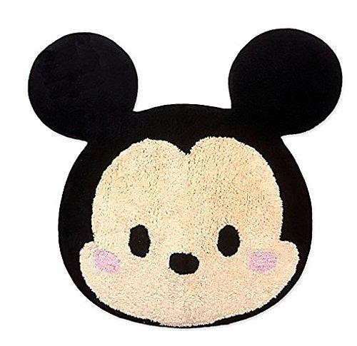 Disney Jay Franco und Sons Rutschfeste Rückseite, 100% Baumwolle, Maschinenwäsche, importierte Tsum Tsum Tsum Stapel, getufteter Teppich