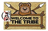 Star Wars - Doormat Welcome To The Tribe Ewok