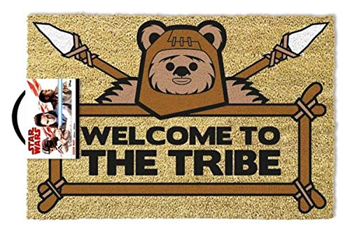Star Wars Welcome to The Tribe Fußmatte, Kokosfaser, braun, 60 x 40 x 1,5 cm