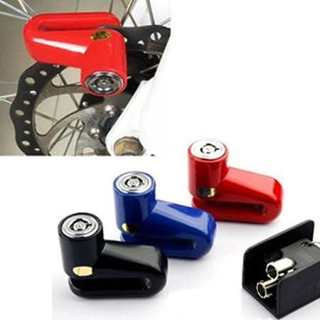 Bremsscheibenschloss Bremsscheibenschloß Schloss Motorrad Fahrrad Mtb Roller Mofa 4 Farben Auswahl Sport Freizeit