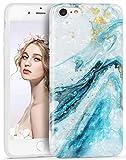 iPhone SE(2020)ケース iPhone 7ケース Imikoko iPhone 8ケース ソフトケース 【Marble シェ……