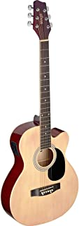Guitarra acústica de auditorio Stagg, natural