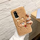 Cute Rabbit Bear Plush Case For Samsung Galaxy S20 FE Ultra