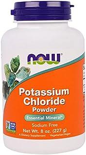 NOW Foods Potassium Chloride Powder 8 Ounces (Pack of 4)