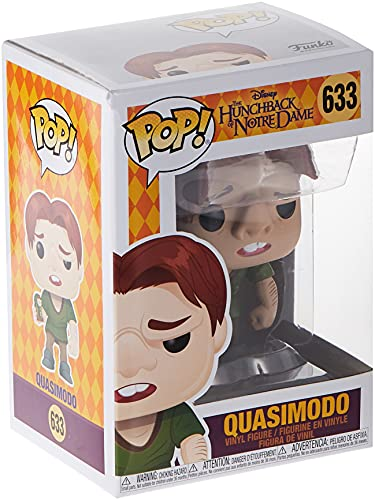 Funko- Pop Disney: Hunchback of Notre Dame-Quasimodo Collectible Toy, Multicolor...