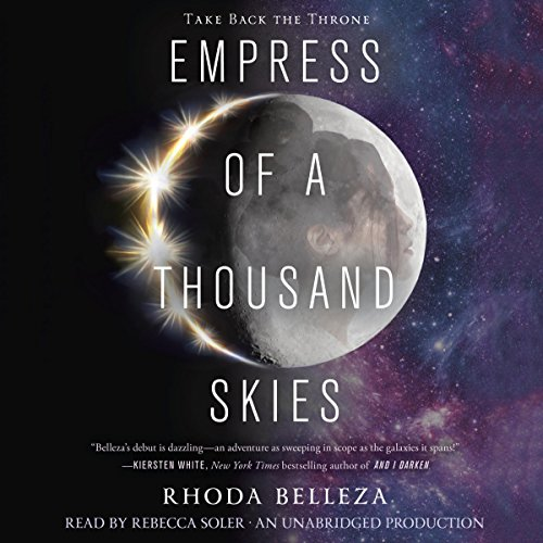 Empress of a Thousand Skies audiobook cover art
