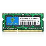 Rasalas 4GB DDR3 1333MHz PC3-10600 SODIMM RAM Memory Compatible for Apple Early Late 2011 13/15/17 Inch MacBook Pro, Mid 2010 and Mid Late 2011 21.5/27 Inch iMac, Mid 2011 Mac Mini