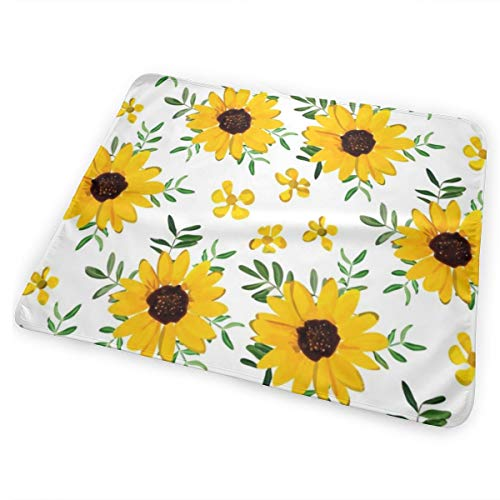 RomaniaGH Sunflower Baby Changing Mat 25.5