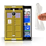 Stuff4 Phone Case for Nokia Lumia 1520 Tardis Phone Box Art