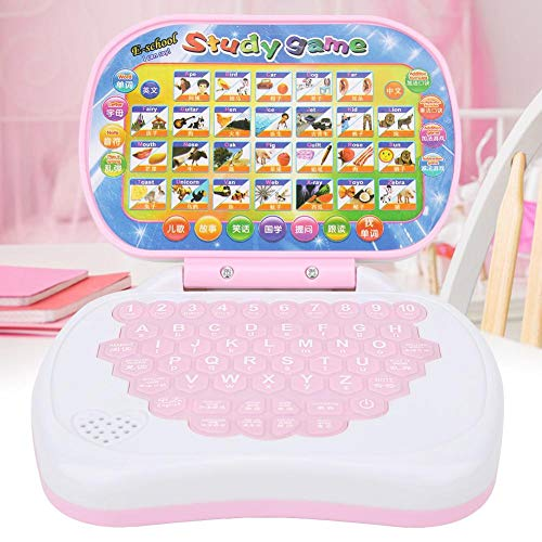 Fabater Laptop Learning Toy, with Rubber Keyboard, Multiple Modes, Kids Computer Learning Toy, for kids Home