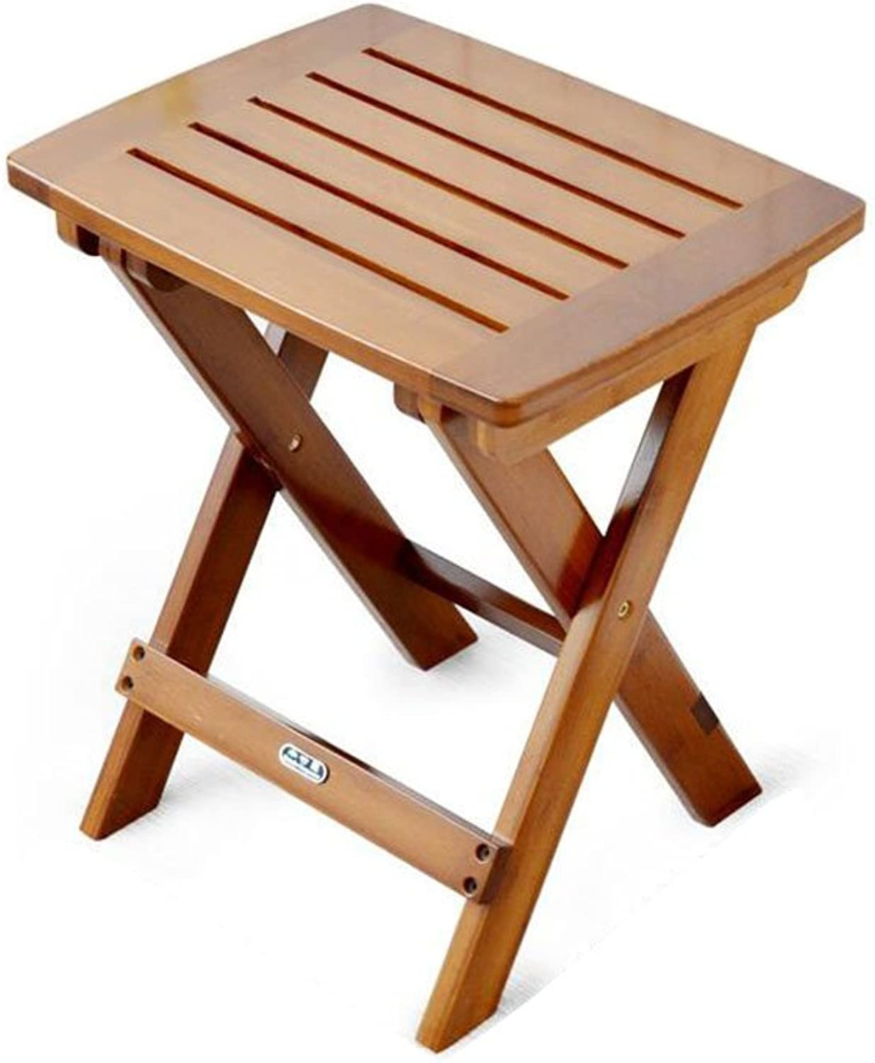 CJC Stools Chair Foldable Bamboo Modern Leisure Retro Fishing Picnic Beach Multifunctional Lightweight Bedroom Bathroom Kitchen Garden Office (color   T1)