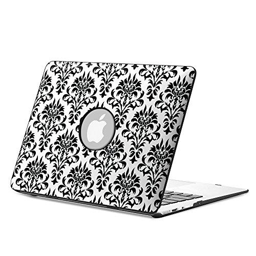 Fintie Macbook Air 13 Funda - Cuero Sintético + Cubierta de la Caja de cáscara Dura para Apple MacBook Air 13.3 Pulgadas (A1466 / A1369), Love Tree