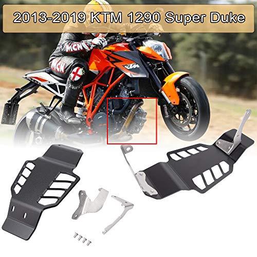 XX eCommerce Motorrad-Schutzabdeckung für Motorrad, Aluminium, Schwarz, für 1290 Super Duke Super Duke Modelle
