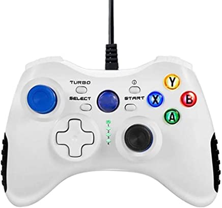 Awhao Wired Game Controller, USB Gamepad Joystick for PC Android PS3