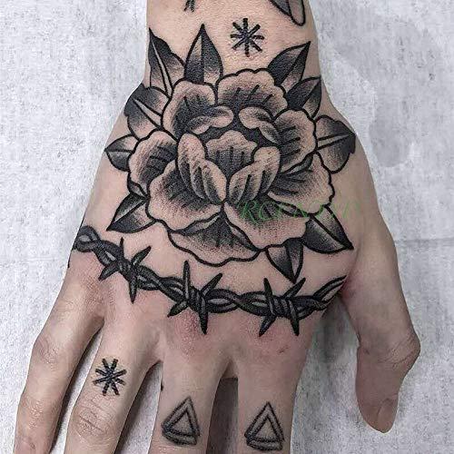 Yyoutop Pegatinas para Tatuajes temporales a Prueba de Agua Rey ...