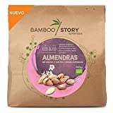 Almendras ESPANÕLAS, Nacional, Crudas con Piel, Dulces, Ecológicas y Bio BAMBOO STORY 900gr.