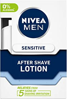 NIVEA MEN Shaving, Sensitive After Shave Lotion, 100ml