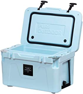 Monoprice Emperor Cooler - 25 Liters - Blue | Securely Sealed, Ideal for The Hottest and Coldest Conditions - Pure Outdoor Collection