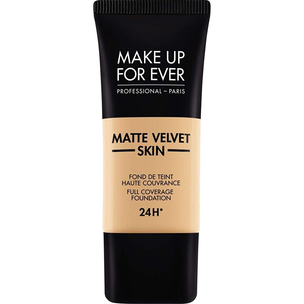 ルネッサンスサイバースペース再編成する[MAKE UP FOR EVER ] 暗い砂 - これまでマットベルベットの皮膚のフルカバレッジ基礎30ミリリットルのY335を補います - MAKE UP FOR EVER Matte Velvet Skin Full Coverage Foundation 30ml Y335 - Dark Sand [並行輸入品]