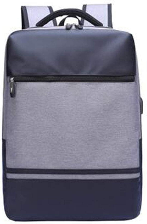 Travel Backpack USB Charging Laptop Shoulder Bag Korean College Student Bag