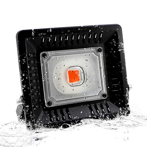 ZOZO Lampada LED Grow Plan Zen 50 W lampada crescita pianta lampada spettro completo LED serie con luce UV IR per interni serra Grow Box Veg germinazione bluehen (Confezione da 1)