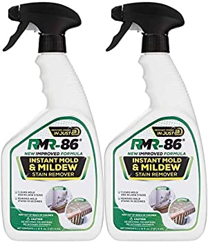 RMR-86 Instant Mold and Mildew Stain Remover Spray - Scrub Free Formula Bathroom Floor and Shower Cleaner 2 - 32 Fl Oz bottles