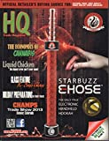 HQ Trade Magazine October 2013 K0Sass Glass, Starbuzz Ehose