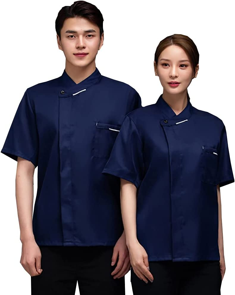 Chef Jacket Unisex Food Service Vented Vent Cool Coat Ranking Max 54% OFF TOP11 Uniforms