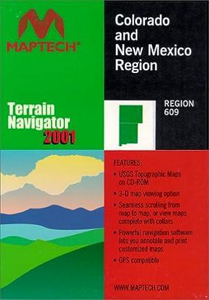 MyTopo Maptech TNav Colorado/New Mexico Topographical Map CD-ROM (Windows)