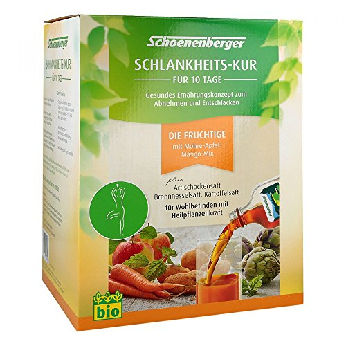 SCHLANKHEITSKUR Fruchtige Schoenenberger 1 P