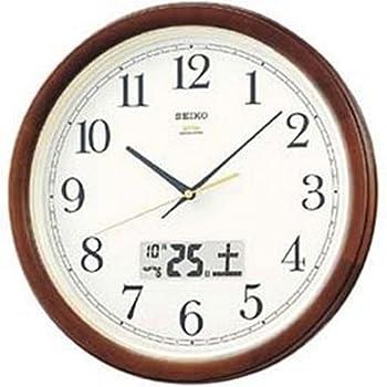 SEIKO CLOCK (セイコークロック) 掛け時計 スタンダード 電波時計 ツイン・パ KS227B
