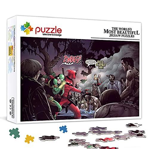 OKJK Puzzle per Adulti 300 Pezzi Kiernan ShipkaPuzzle in Legno Star Poster Gioco di Puzzle, stimolante Regalo educativo 38x26cm