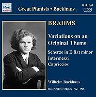 Brahms: Variations/Scherzo