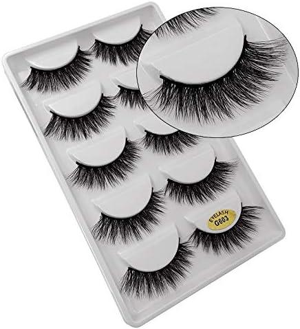 YYQ Choice Regular discount Natural 3D Stereo False Handmade Soft Water-Like M Eyelashes